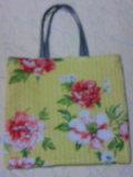 花柄カバン(袋)