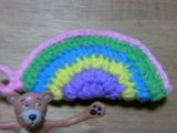 虹のつもりなタワシ