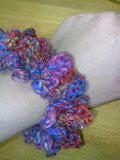 鎖編みだけシュシュ